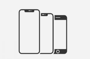 iPhoneのイラスト